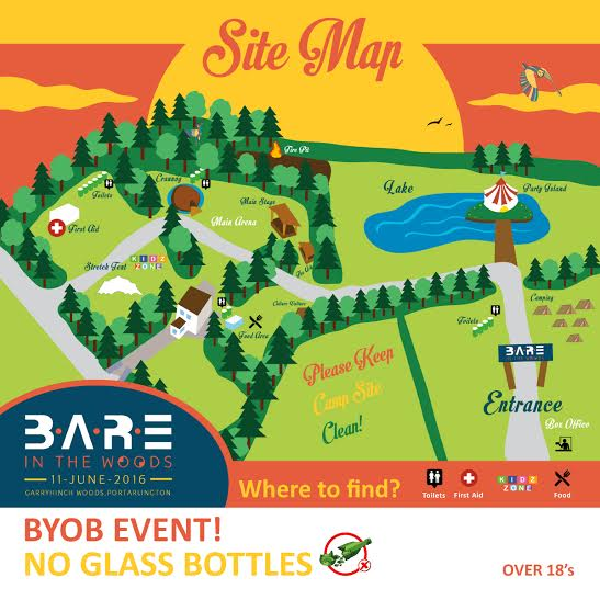 BARE 2016 Site Map Sat June 11