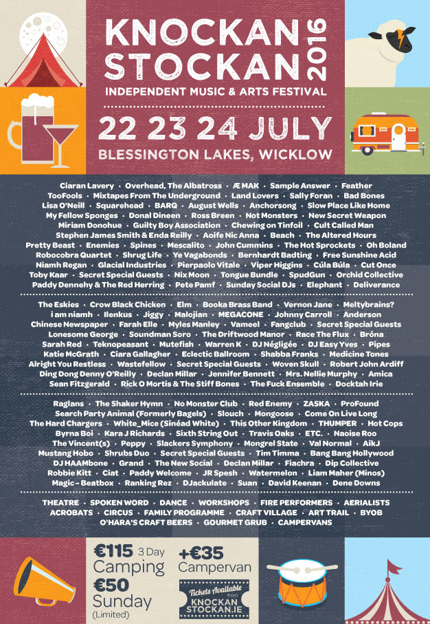 KnockanStockan Full Line-up